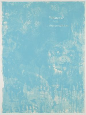 Three color lithograph by Noel Anderson pictured.