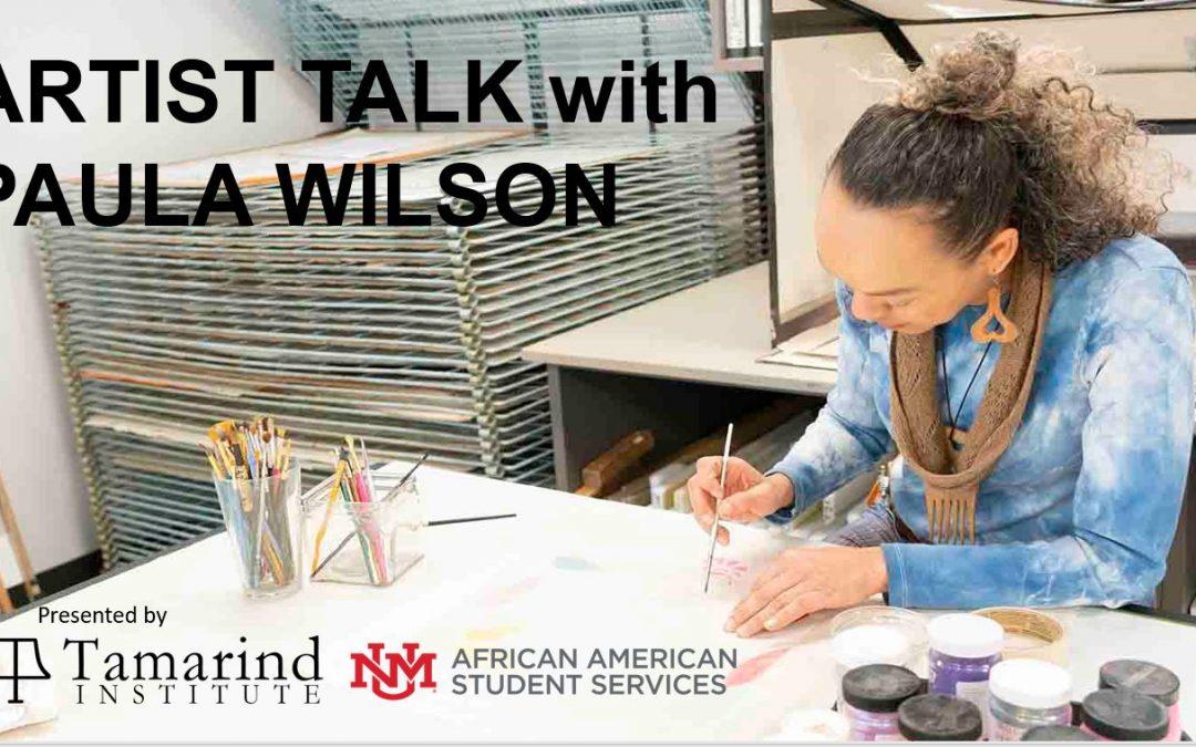 Tamarind Talks: Paula Wilson