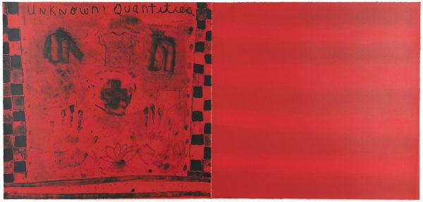 Four-color lithograph by Squeak Carnwath.