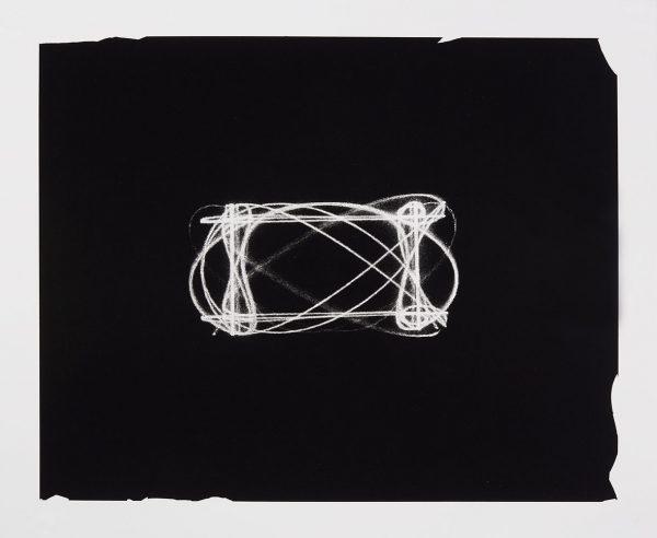 Single-color lithograph by R. Luke Dubois.
