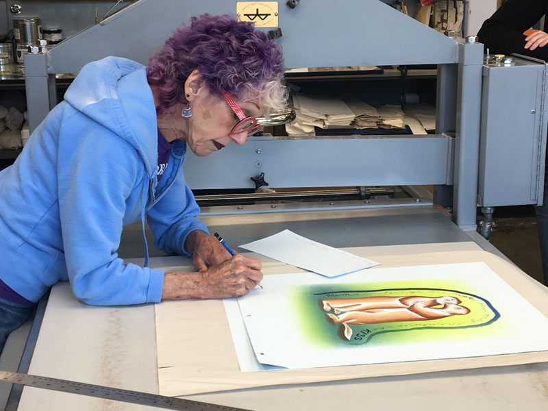 Tamarind Institute Lithography Workshop And Gallery At The