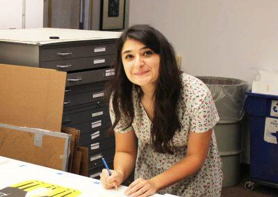 Tipping Points artist Zahra Marwan