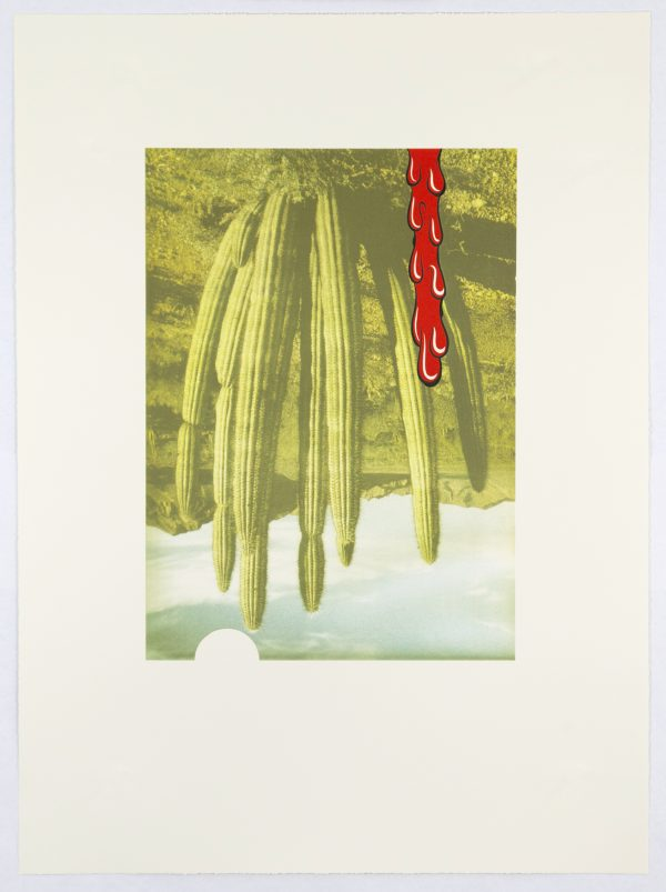 Six-color lithograph by Mark Mulroney.