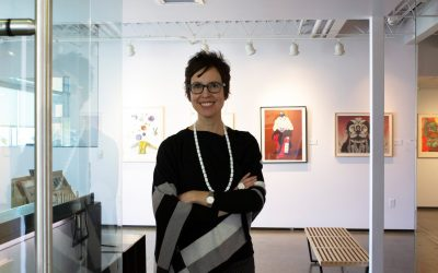 Nancy Zastudil is the new gallery director at Tamarind Institute