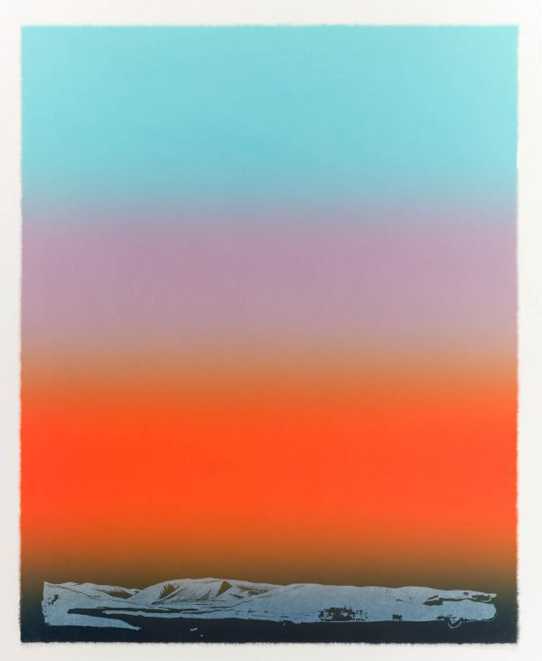Five-color lithograph by Outi Pieski.