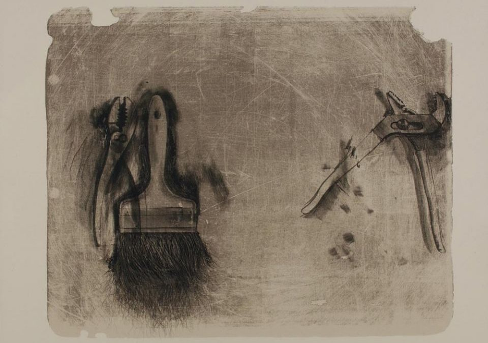 Jim Dine | Tools for Creeley III
