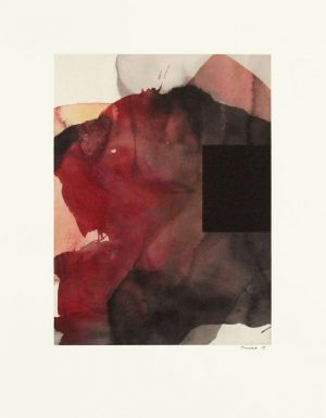 Monotype with water color by Daniel Brice.
