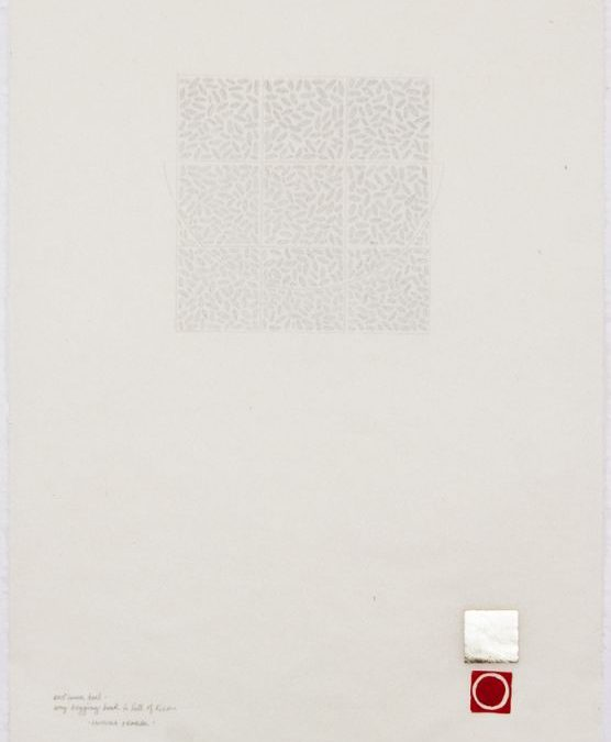 Anne Cooper, autumn heat / my begging bowl is full of rice, 2014 (14-804)