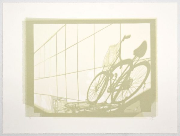 Four-color lithograph by Adam Feibelman.