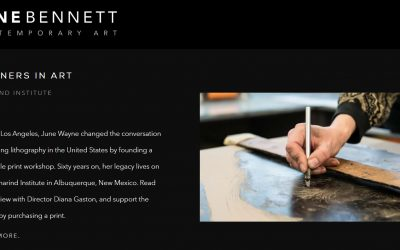 Zane Bennett Partners in Art | Tamarind Institute