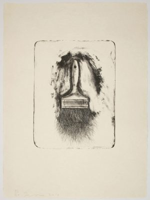 Lithograph by Jim Dine