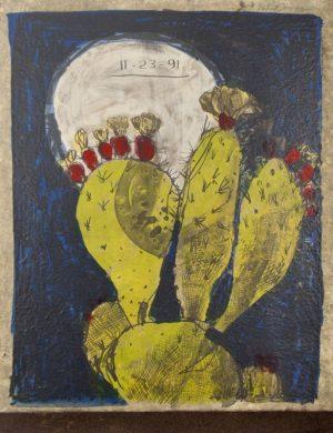 Six-color lithograph by Roberto Juarez.