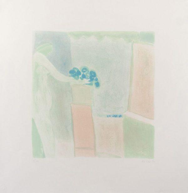 Six-color lithograph by Joy Laville